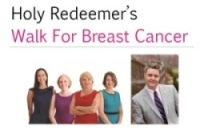 Holy Redeemer's Walk For Breast Cancer